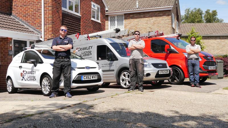 Crawley Locks and Alarms team